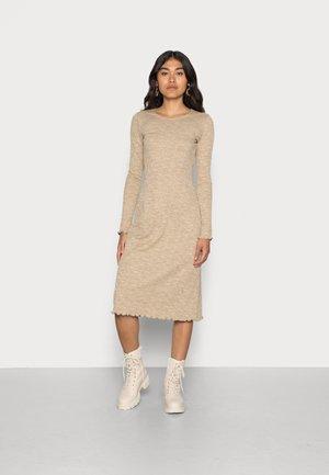 SIGNE DRESS - Jumper dress - beige
