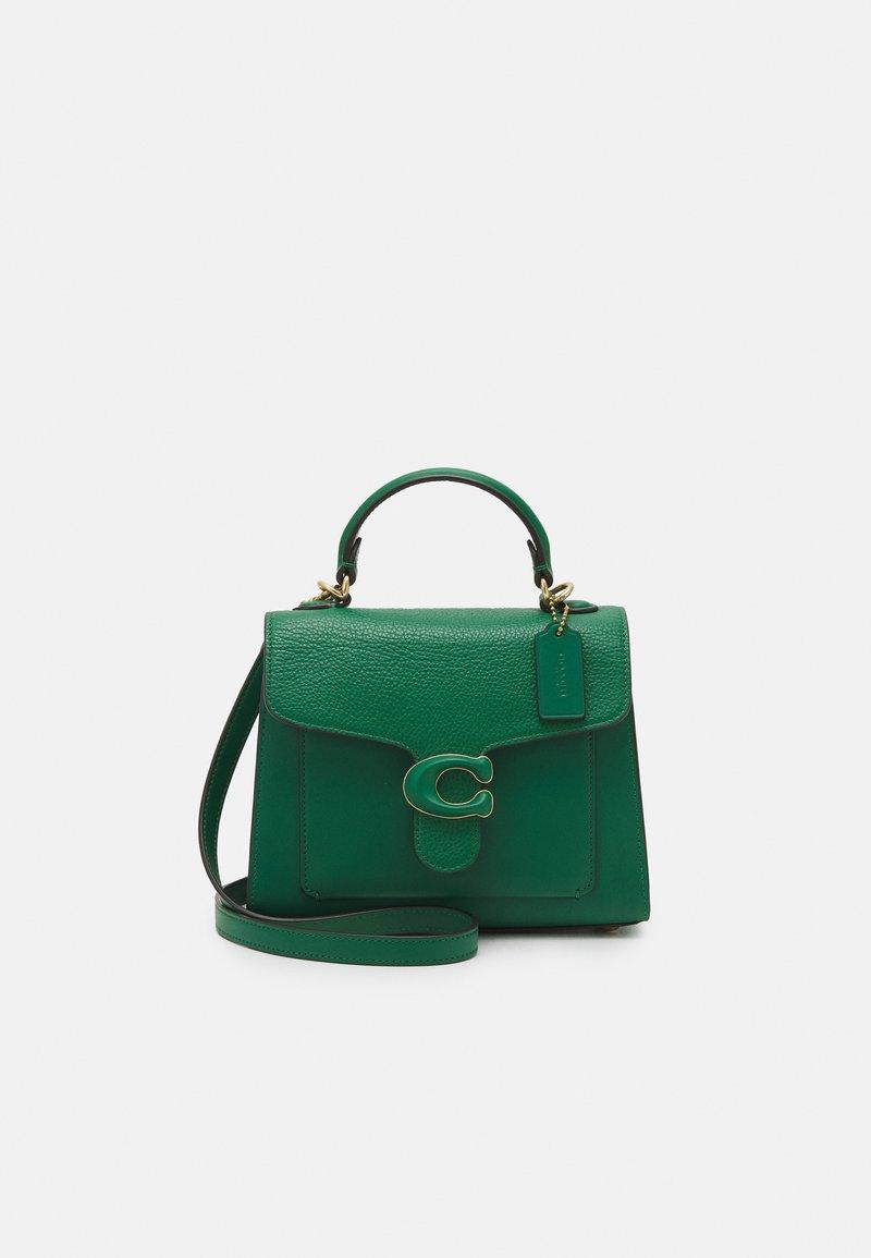 Coach - COVERED CLOSURE TABBY TOP HANDLE - Handbag - green