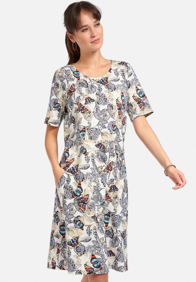 Day dress - ecru/multicolor