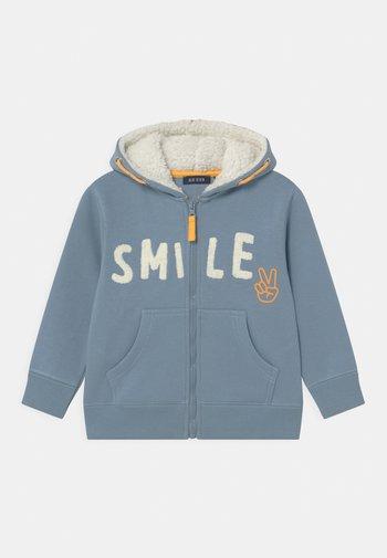 KIDS BOYS  - Zip-up sweatshirt - mittelblau
