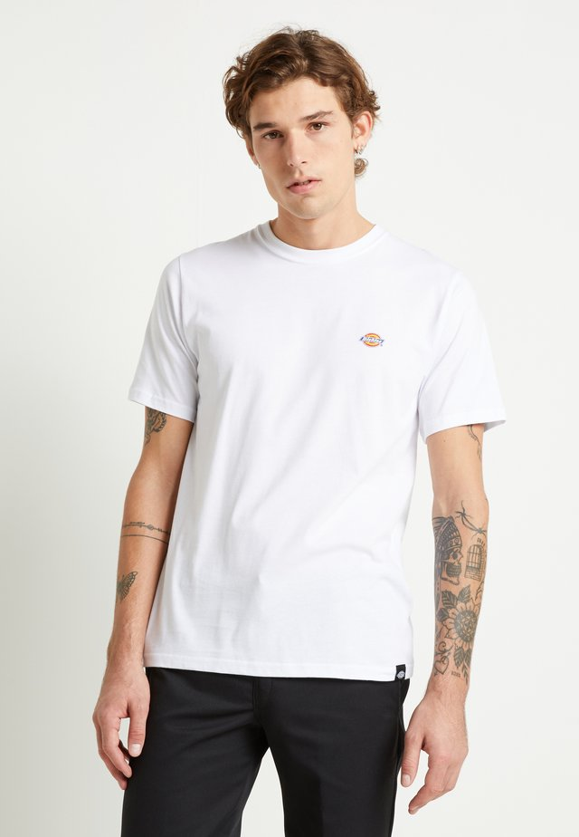 STOCKDALE - T-shirt basic - white