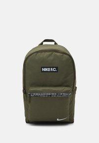 Nike Performance - FC UNISEX - Rucksack - medium olive/black/white - 1