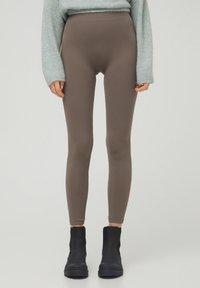 PULL&BEAR - Leggings - grey - 0
