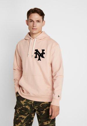 MLB VINTAGE BIG LOGO HOODY - Hoodie - mottled pink