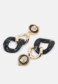 ALDO - BALLACALLIN - Earrings - black/gold-coloured - 2