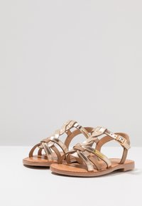 Les Tropéziennes par M Belarbi - BADAMI - Sandals - beige/or - 3