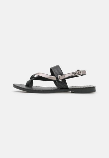 ONLMELLY TOE SPLIT  - T-bar sandals - black