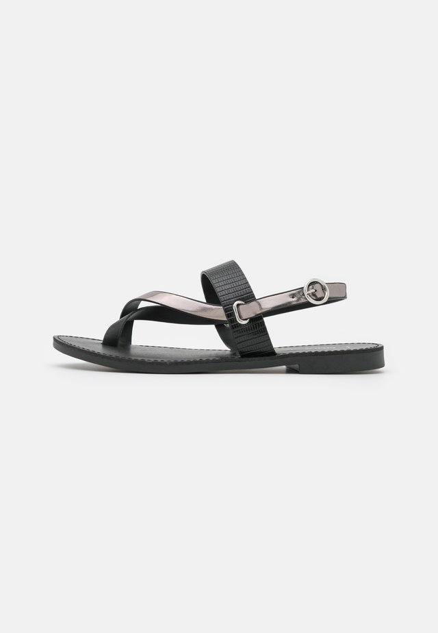 ONLMELLY TOE SPLIT  - Teensandalen - black