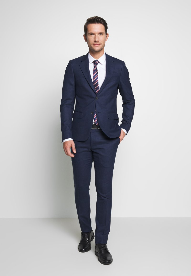 Bruun & Stengade - ABRUZZO SLIM - Suit - navy