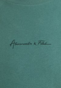 Abercrombie & Fitch - CURVED HEM MAY - T-shirt - bas - green - 2