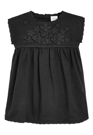 PINK FLORAL LACE BODICE DRESS (3MTHS-7YRS) - Shirt dress - black