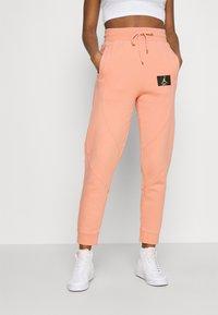 Jordan - FLIGHT PANT - Tracksuit bottoms - apricot agate - 0