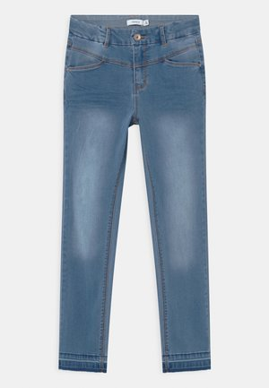 NKFSALLI  - Jeans Skinny Fit - medium blue denim