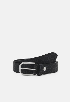 CUT OUT BUCKLE - Skärp - black