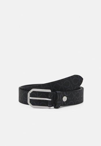 CUT OUT BUCKLE - Belt - black