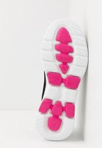 Skechers Performance - GO WALK 5 - Chaussures de course - black/pink - 4
