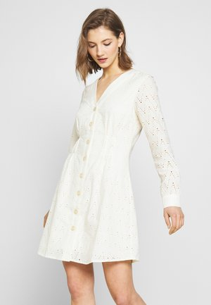 YASHELEN DRESS  - Korte jurk - eggnog