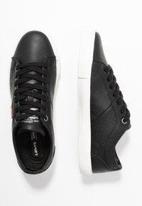 Levi's® - WOODS  - Trainers - regular black - 3