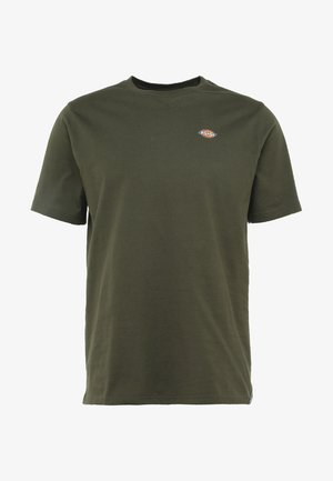 STOCKDALE - Basic T-shirt - dark olive