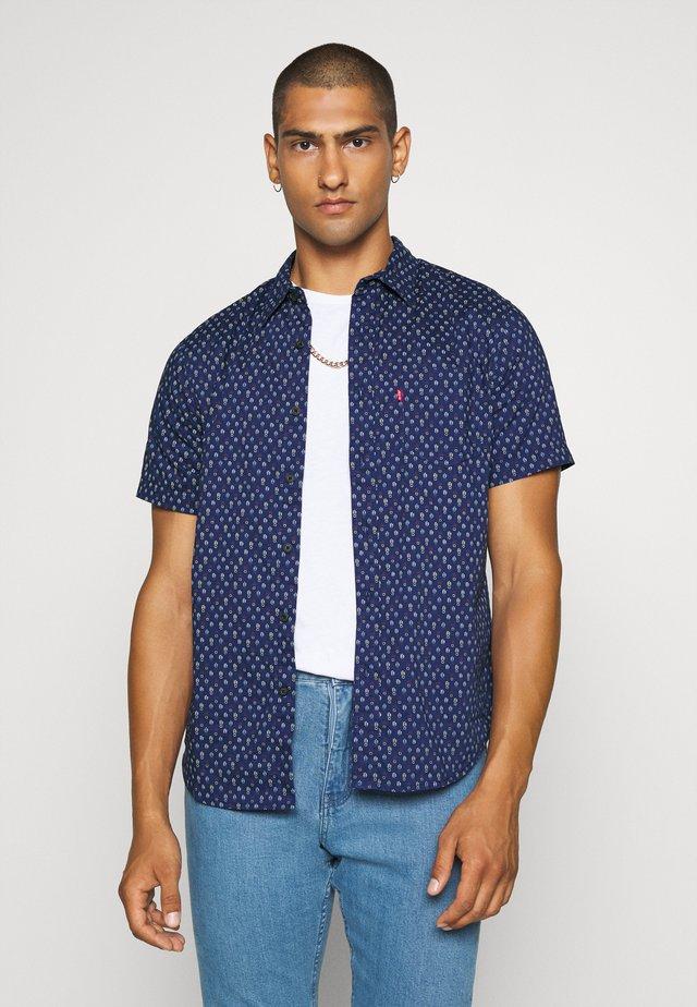 Shirt - sphalerite blue