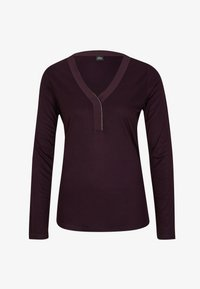 s.Oliver BLACK LABEL - Long sleeved top - dark purple - 5