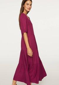 OYSHO - Day dress - dark purple - 2