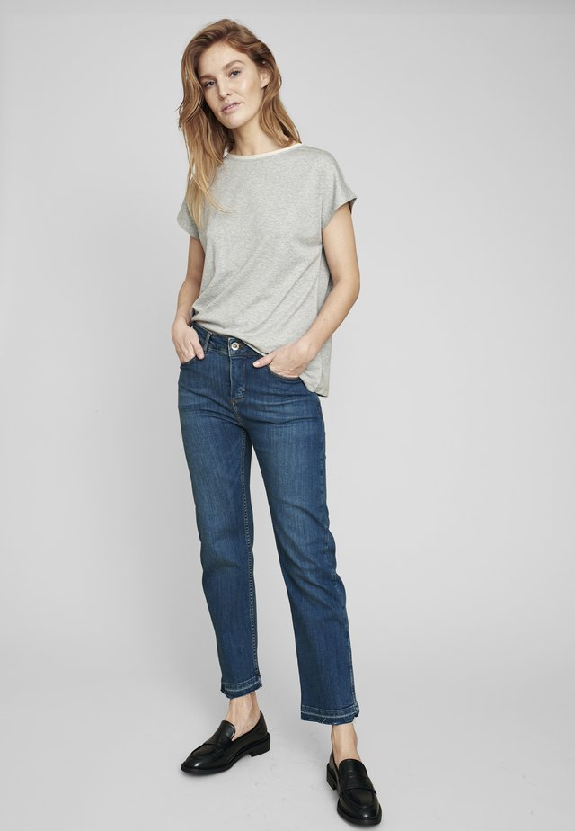 MOON - Straight leg jeans - faded blue wash