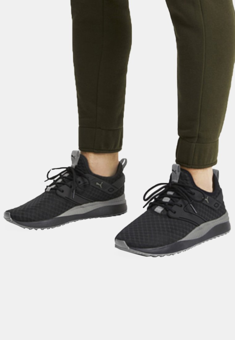 Puma - Trainers -  black/charcoal grey