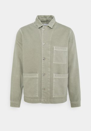 NEW WORKER JACKET  - Giacca di jeans - seagrass
