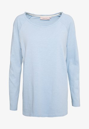 ESSENTIAL HEAVY SLUB - Topper langermet - powder blue