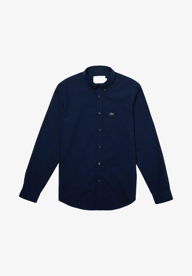 CH2564 - Chemise - noir / bleu