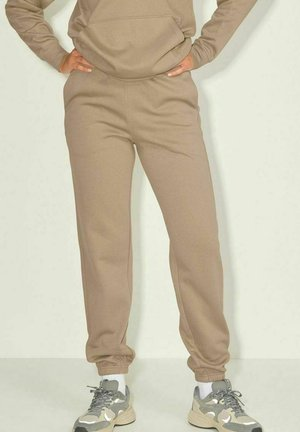 RELAXED - Tracksuit bottoms - brindle