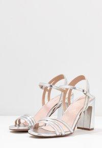 Mariamare - Højhælede sandaletter / Højhælede sandaler - silver - 4