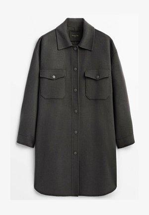 HANDMADE MIT TASCHEN  - Short coat - grey