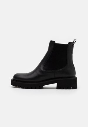 ROW - Platform ankle boots - black