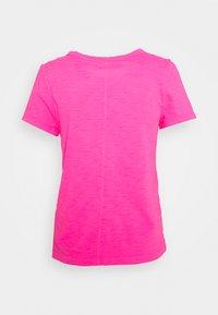 GAP - COZY SLUB TEE - Basic T-shirt - sizzling fuchsia - 1