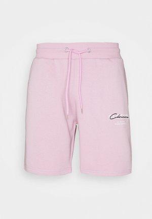 BLOCK SCRIPT - Shorts - pink