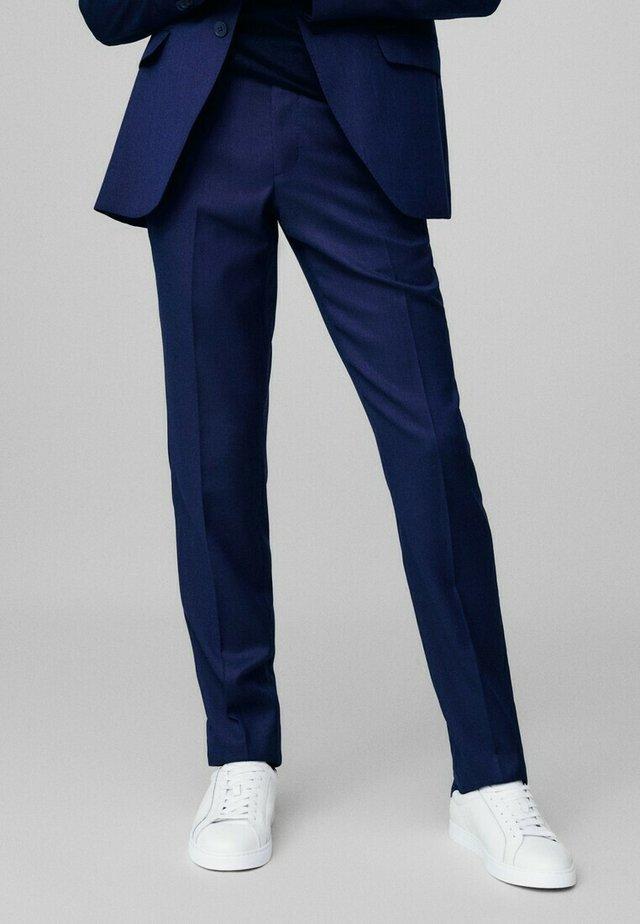 SLIM FIT - Spodnie garniturowe - blue