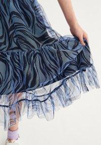 Next - Pleated skirt - blue - 4