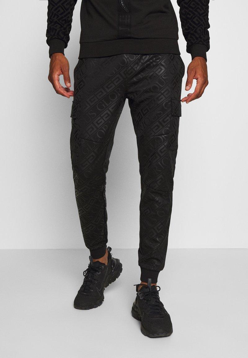 Glorious Gangsta - LINDEN - Teplákové kalhoty - black
