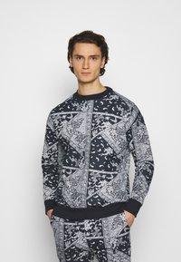 Another Influence - ARLO - Sweatshirt - blue - 0