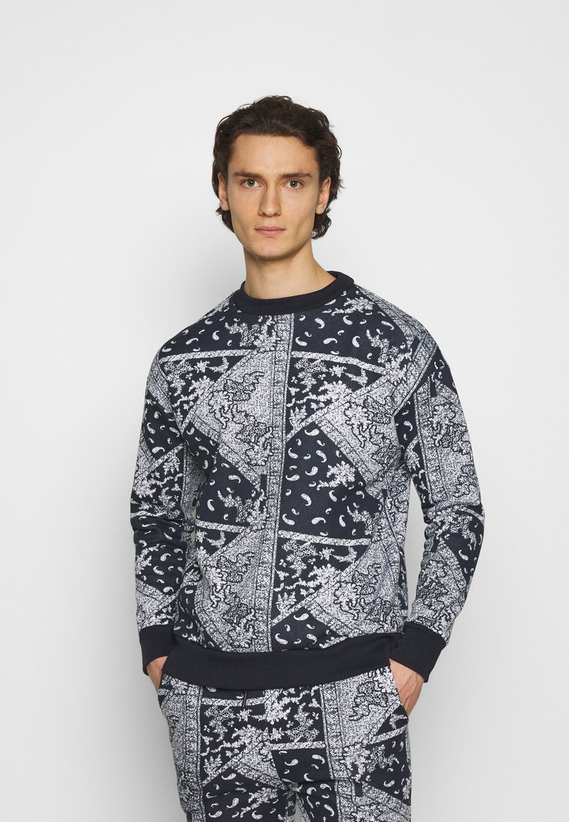 Another Influence - ARLO - Sweatshirt - blue