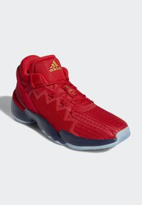 adidas Performance - D.O.N. ISSUE 2 - Basketball shoes - scarlet/team navy blue/gold metallic - 1