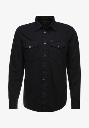 WORKER WESTERN - Camisa - black