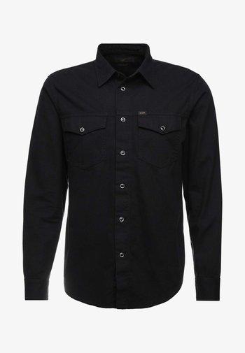 WORKER WESTERN - Overhemd - black
