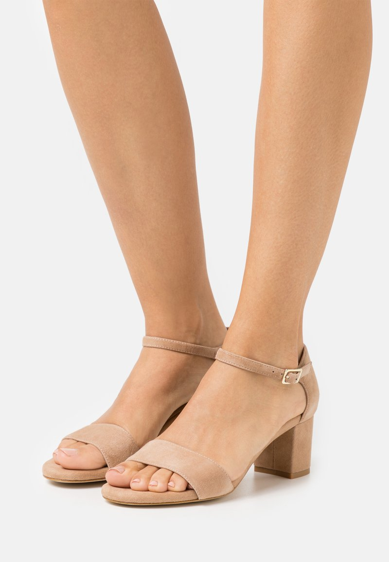 Anna Field - LEATHER COMFORT - Sandály - beige
