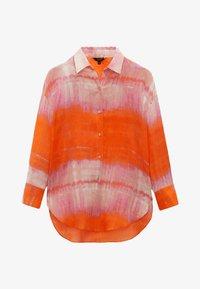 Massimo Dutti - REINEM RAMIE - Button-down blouse - red - 0