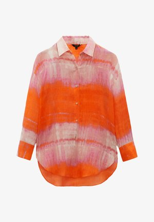 REINEM RAMIE - Button-down blouse - red