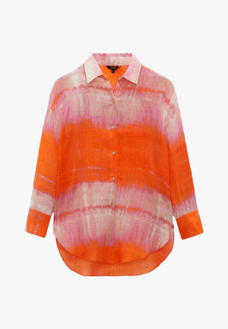 Massimo Dutti - REINEM RAMIE - Button-down blouse - red