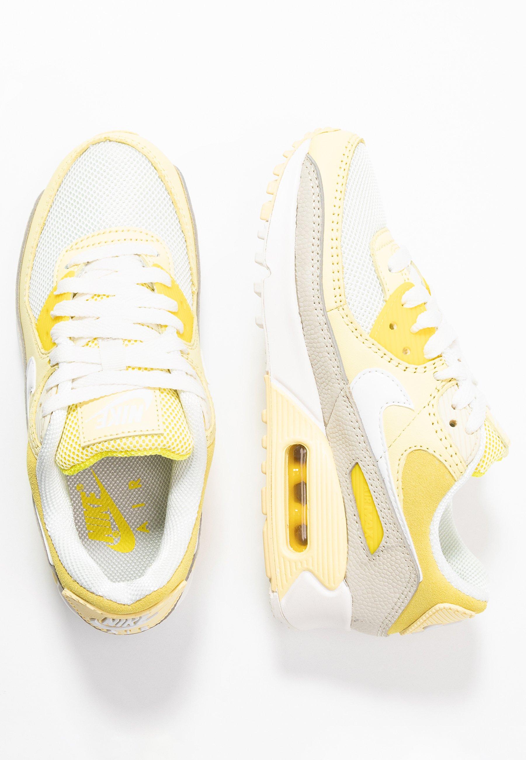 Nike Sportswear AIR MAX 90 - Baskets basses - optic yellow/white ...